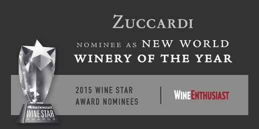 New World Winery 2015 - Award