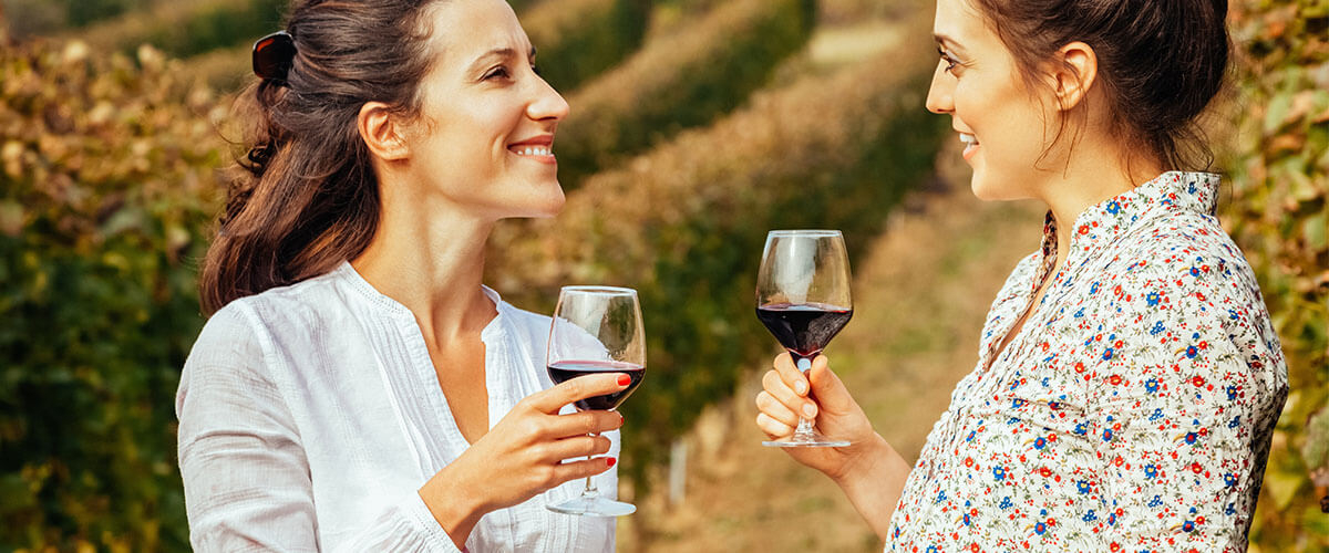 Syrah/Shiraz Wein trinken