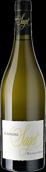 Pouilly Fumé Le Domaine Saget Weißwein trocken 0,75 l