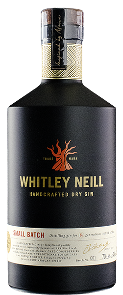 Whitley Neill Dry Gin 42% vol. 0,7 l