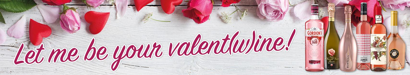 Valentinstag Wein