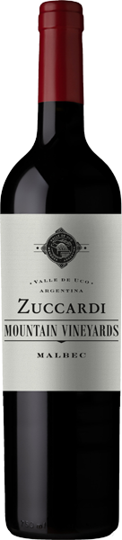 Zuccardi Mountain Vineyard Malbec Rotwein trocken 0,75 l
