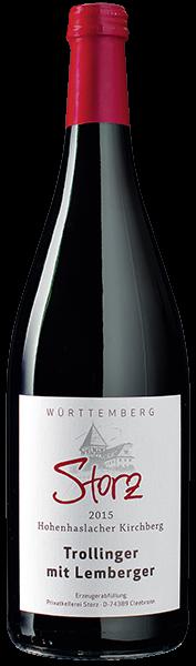Storz Hohenhaslacher Kirchberg Rotwein halbtrocken 1 l