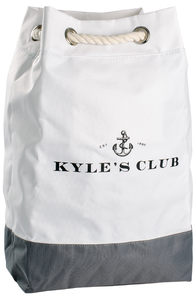 Kyle's Club Backpack White