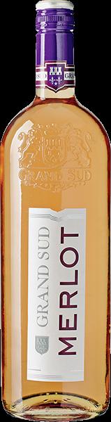 Grand Sud Merlot Roséwein halbtrocken 1 l