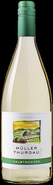 Sonnenaufgang Müller-Thurgau Weißwein halbtrocken 1 l
