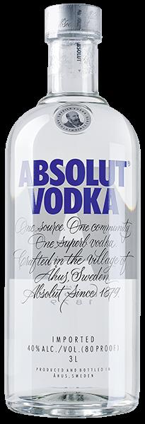 Absolut Vodka 40% vol. 3,0 l