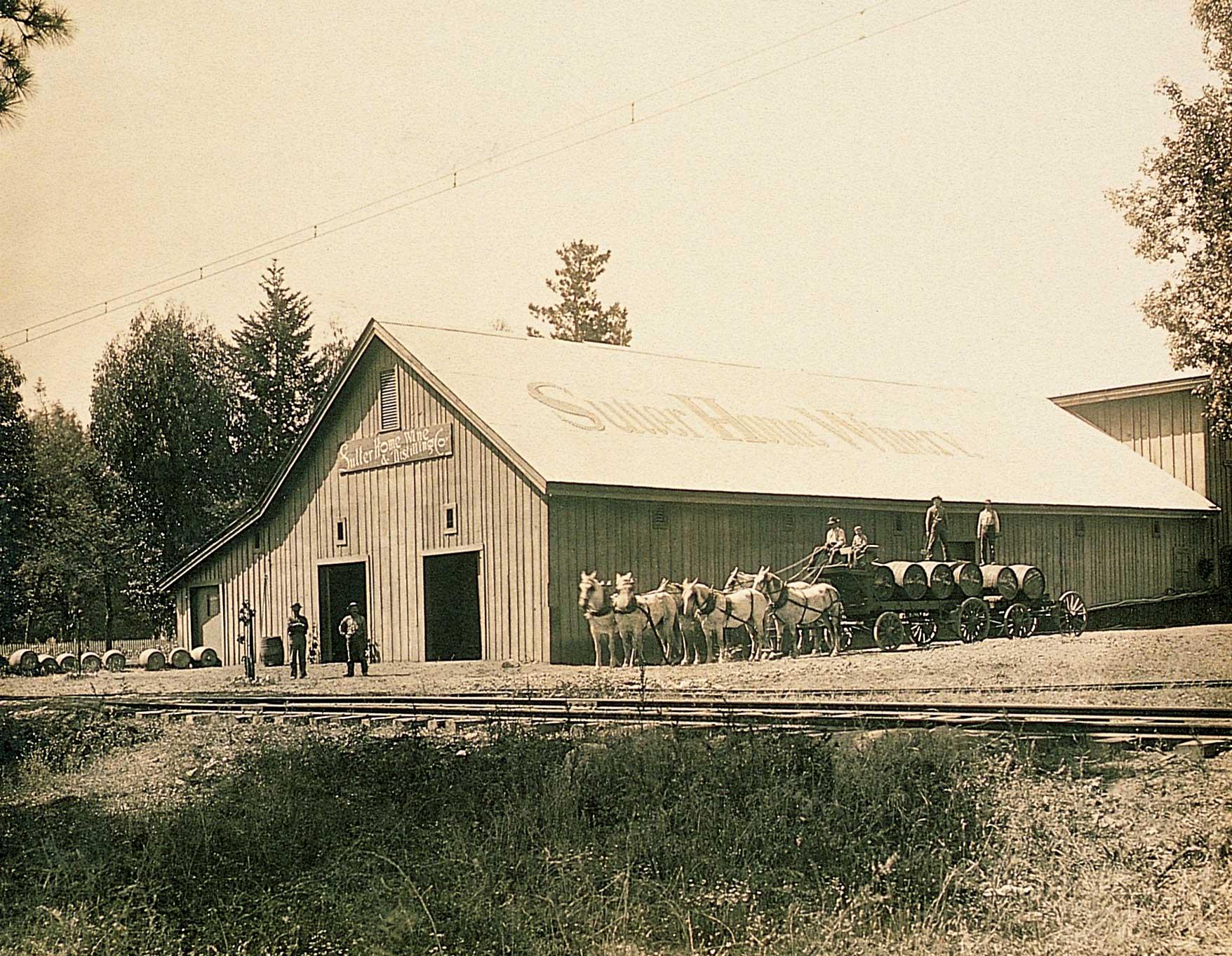 Sutter Home Old Barn