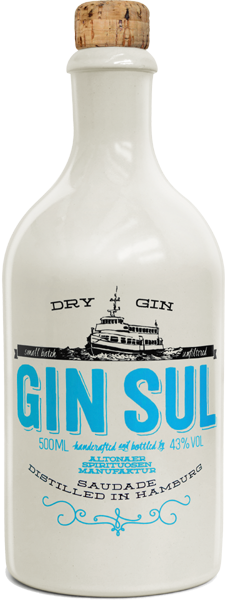 Gin Sul 43,0% vol. 0,5 l