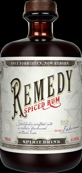 Remedy Spiced Rum 41,5 % vol. 0,7 l