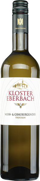 Kloster Eberbach Weiß- & Grauburgunder Domäne Bergstraße Weißwein trocken 0,75 l