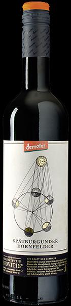 Demeter Biovitis Spätburgunder/Dornfelder Rotwein trocken 0,75 l