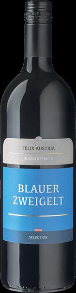 Felix Austria Blauer Zweigelt Rotwein trocken 1 l