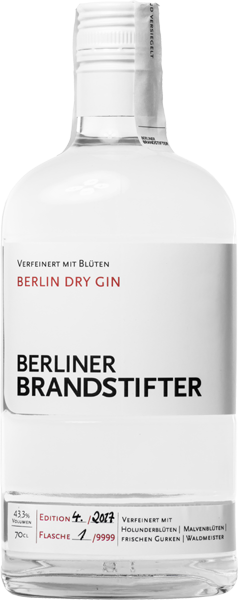 Berliner Brandstifter Gin 43,3% vol. 0,7 l