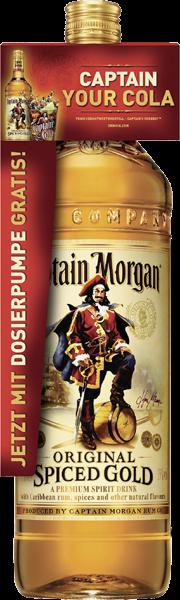 Captain Morgan Original Spiced Gold 35% vol. 3,0 l