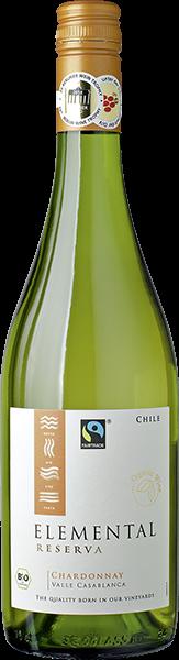 Elemental Chardonnay Reserva Bio/Vegan Weißwein trocken 0,7 l