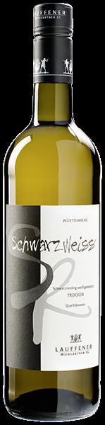Lauffener Schwarz/Weiss Schwarzriesling Weißwein trocken 0,75 l