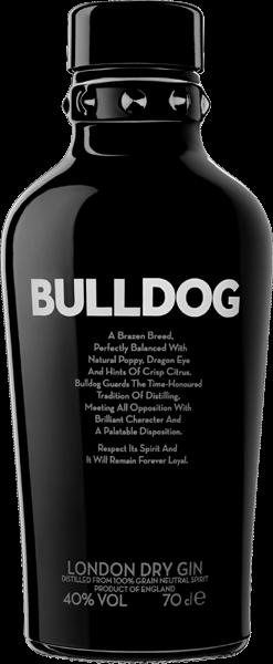 Bulldog London Dry Gin 40% vol. 0,7 l