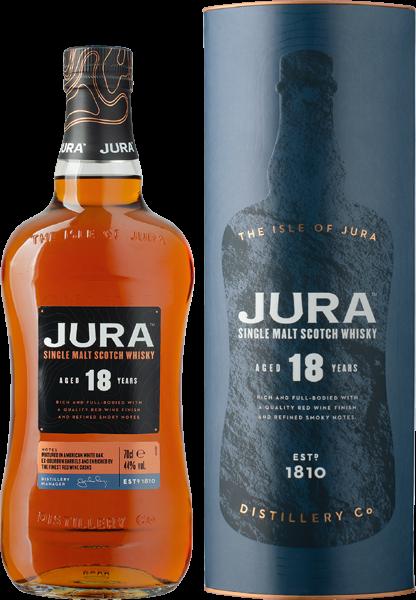 Jura Single Malt Scotch 18 Years 44% vol. 0,7 l