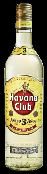 Havana Club 3 Years 40% Vol. 0,7 l