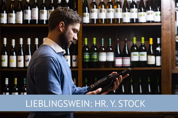 Lieblingswein Stock