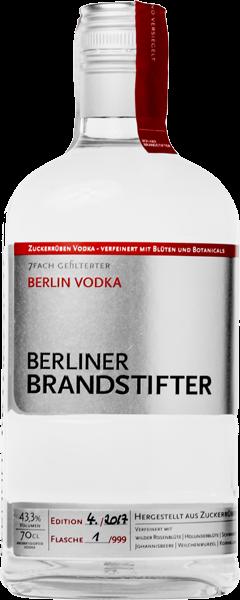 Berliner Brandstifter Vodka 43,3% vol. 0,7 l