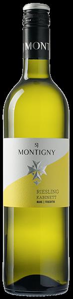 Montigny Riesling Kabinett fruchtig Weißwein lieblich 0,75 l
