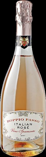 Doppio Passo Vino Spumante Rosé trocken 0,75 l