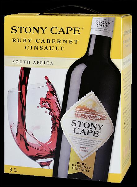 Stony Cape Ruby Cabernet - Cinsault Rotwein trocken Bag in Box 3 l