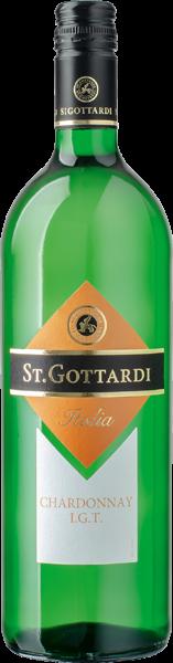 St. Gottardi Chardonnay Weißwein trocken 1 l