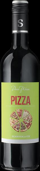 Schneekloth 'Dein Wein' zu Pizza Rotwein trocken 0,75 l