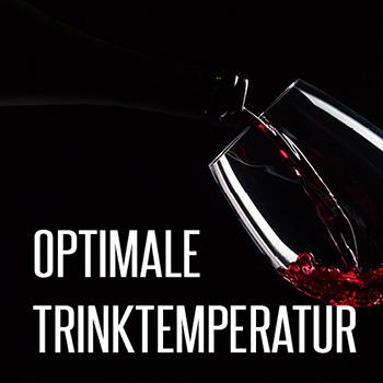 Wein Serviertemperatur