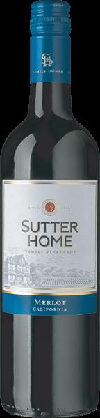 Sutter Home Merlot Rotwein trocken 0,75 l