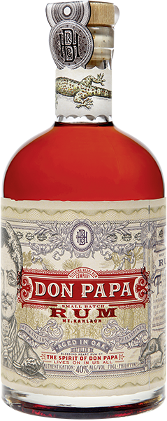 Don Papa Rum 40% vol. 0,7 l