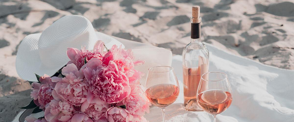 rosewein-spanien-strand