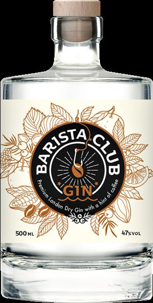 Barista Club Gin 47% vol. 0,5 l