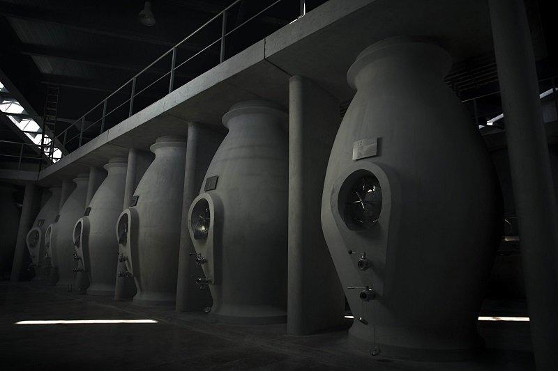 Zuccardi Concrete Vats