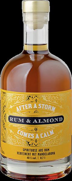 After a Storm Rum mit Mandel 40% vol. 0,7 l