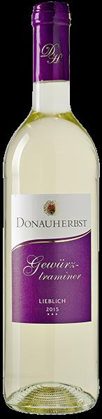 Donauherbst Gewürztraminer Weißwein lieblich 0,75 l