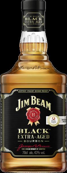 Jim Beam Black Extra-Aged Kentucky Straight Bourbon 43% vol. 0,7 l