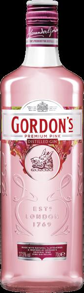 Gordon's Premium Pink Distilled Gin 37,5% vol. 0,7 l