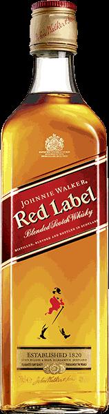 Johnnie Walker Red Label Blended Scotch 40% vol. 0,7 l