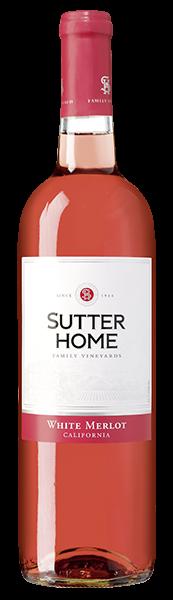 Sutter Home White Merlot Roséwein halbtrocken 0,75 l