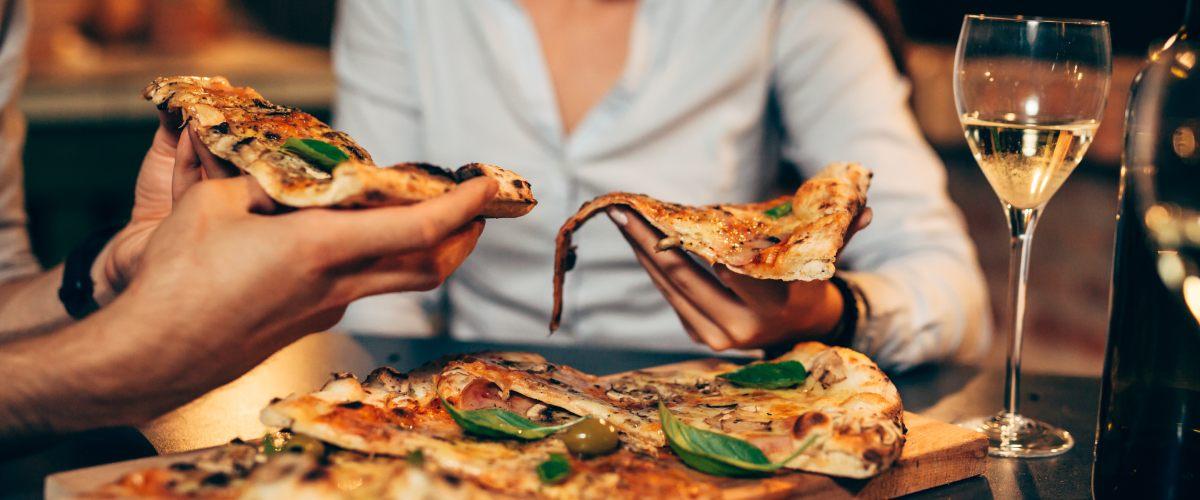 Weißwein zu Pizza