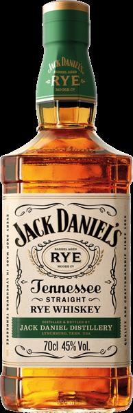 Jack Daniel's Rye Tennessee Whiskey 45% vol. 0,7 l